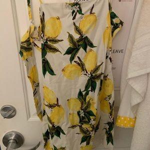 Princess Polly Lemon Dress